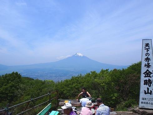2016.5.19金時山からの富士山.JPGのサムネール画像