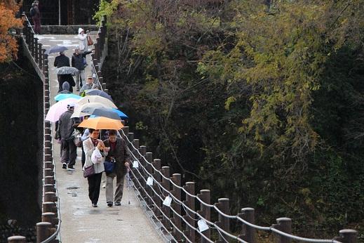 一泊旅行2016白川郷吊橋.JPG