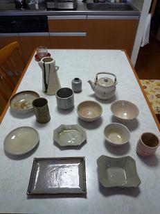 20110822お皿や湯のみ.JPG